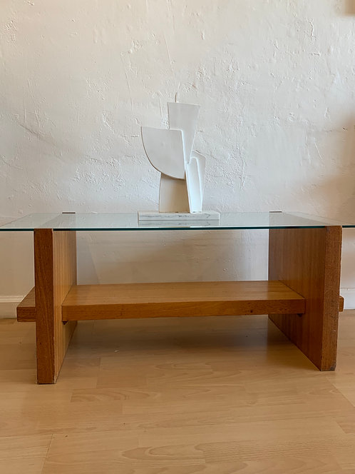 Mid Century Abstract Wooden Table