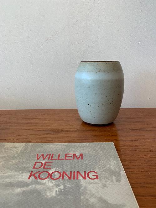 Ceramic Vase w/ Stripe