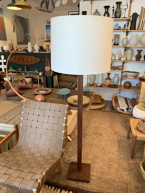 Wooden Mid Century Modern Floor Lamp