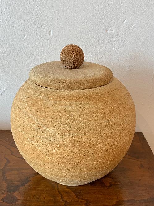 CeramicJar w/ Lid