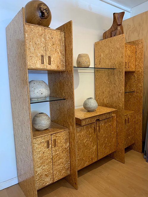 Gerald McCabe Chipboard Wall Unit