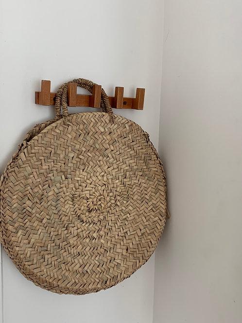 Round Moroccan Basket