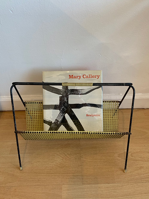 Danish Metal Magazine Rack