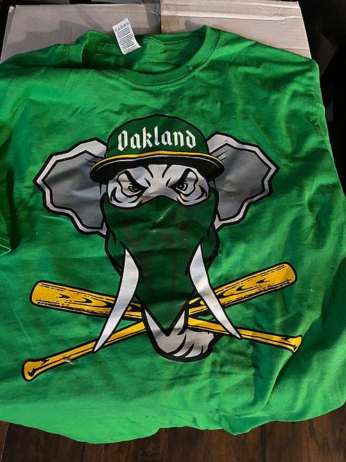 Oakland 68's Kelly Green Tee