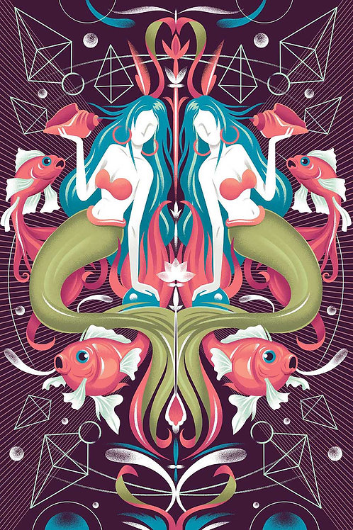 The Mirror 2, Art prints - A2