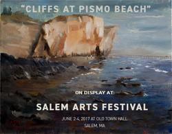 Cliffs at Pismo Beach