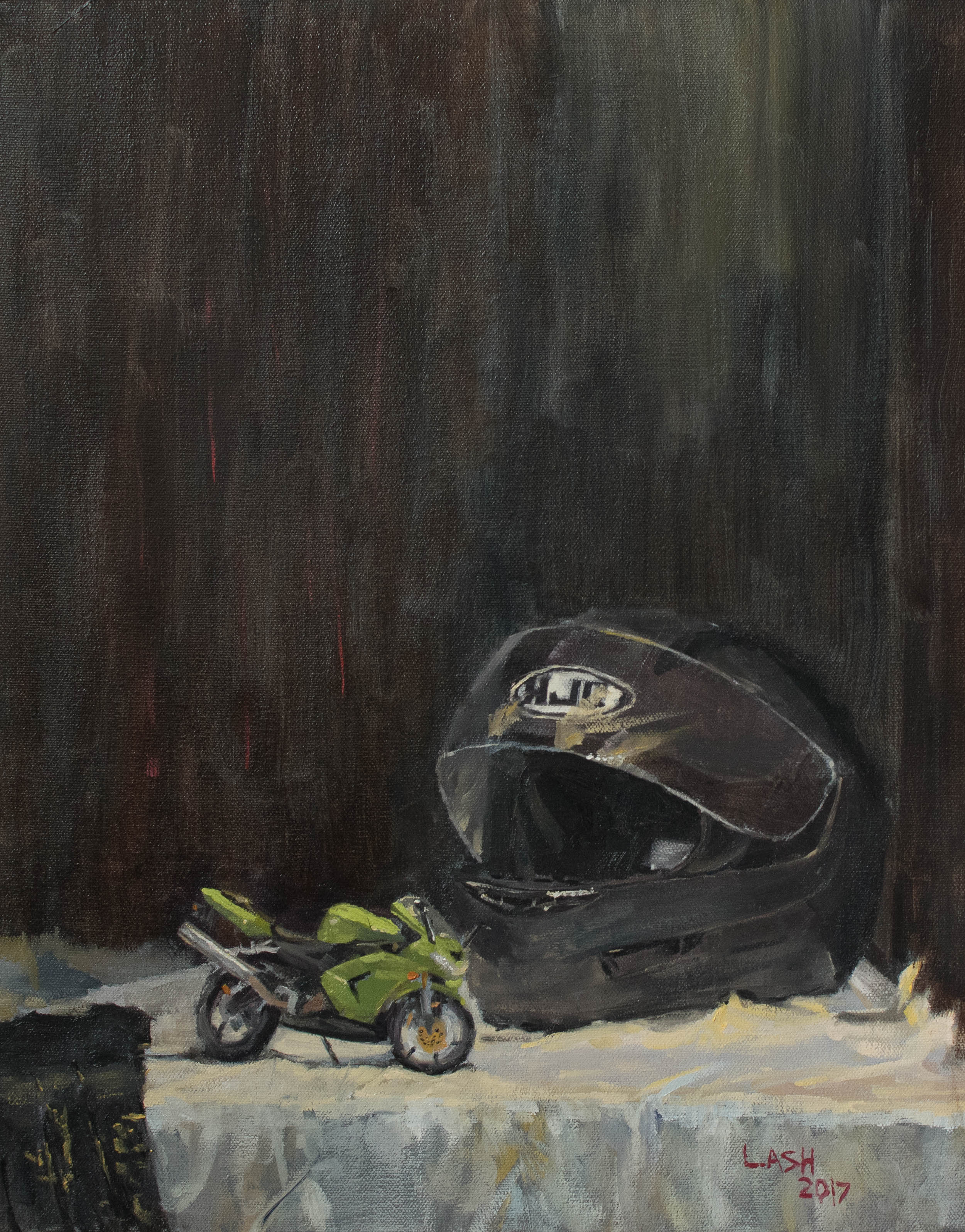 Motorcycle Toy Still Life