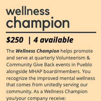 Wellness Champion