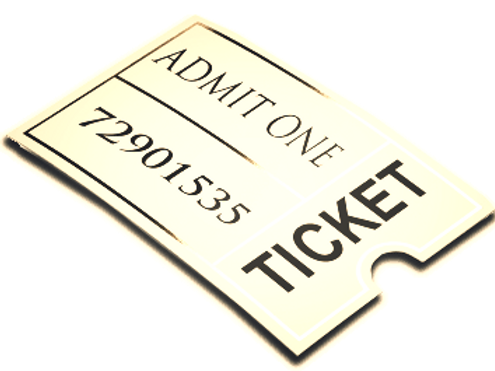Robert Hawkins Tribute Dinner Ticket