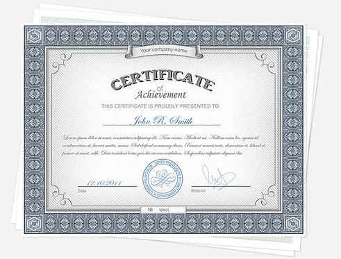 Non-Member Certificate of Attendance