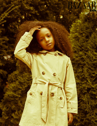 Published in 2018 Oct Harper's Bazaar Kids Brasil Click the photo for link to publication.