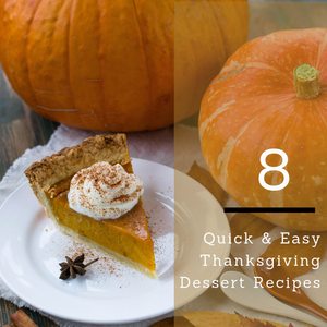 Thanksgiving is right around the corner! We have put together a list of some of our favorite quick & easy thanksgiving dessert recipes to help reduce your stress level on thanksgiving day! Local Insurnace agent. Serving Coweta, Fayette & surrounding counties. We specialize in auto, home, life & small business Insurance