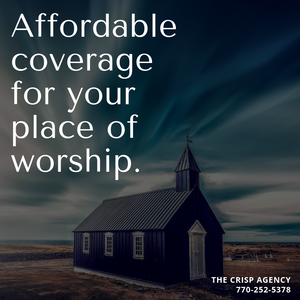 our church is a place of worship, a place so important to you that you can't put a price on it. But, it's not only important to you. It's also important to all the others who go there to worship. You need peace of mind knowing your church is protected with a good insurance policy.