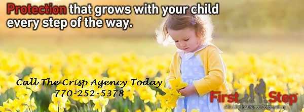Childs Life Insurance, Life Child Insurance, Whole Life Insurance for Kids, Sharpsburg, Newnan, Peachtree City, Alfa Insuranc
