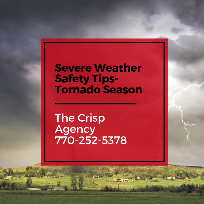 Severe Weather Safety Tips- Tornado season