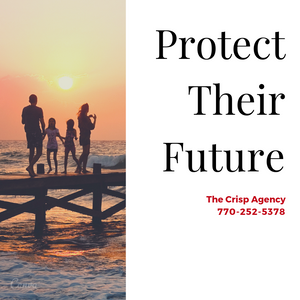 Education cost, medical expenses and debt can devastate a family. With a quality life insurance policy, you can protect their future for about the cost of dinner at your favorite restaurant! We offer a variety of affordable life insurance products that can provide security for them and peace of mind for you.