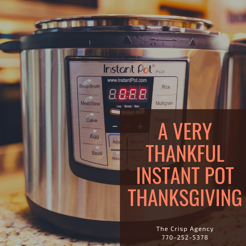 We thought we would put together a list of recipes for you to make your thanksgiving meal all in one single appliance!, The Instant Pot!