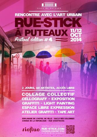 Participez au Festival RUE-STICK à Puteaux