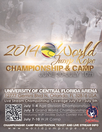 World Jump Rope Championship 2014 - Les résultats
