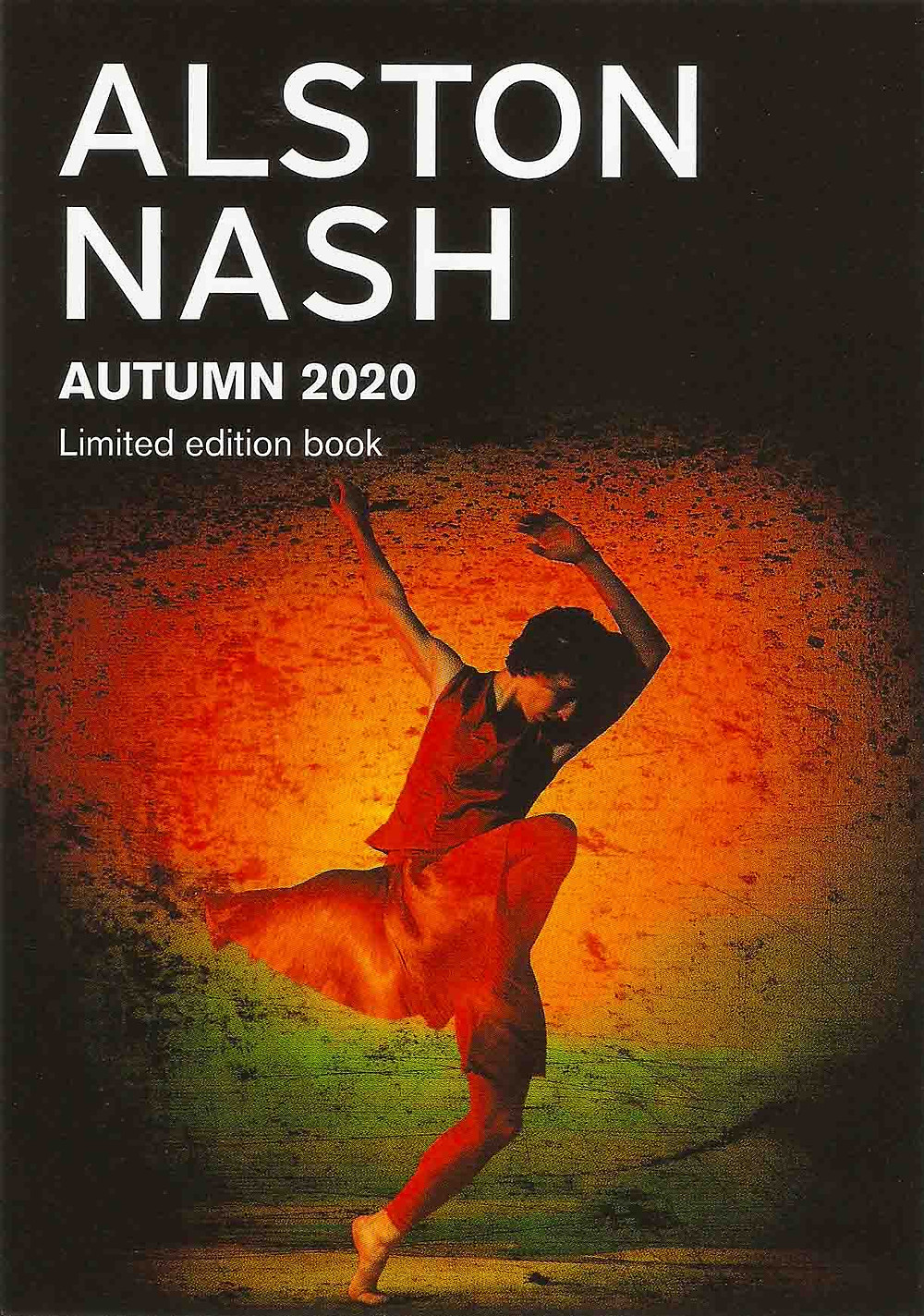 Limited Edition Book featuring 50 photographs  of the Richard Alston Dance Company from Chris Nash