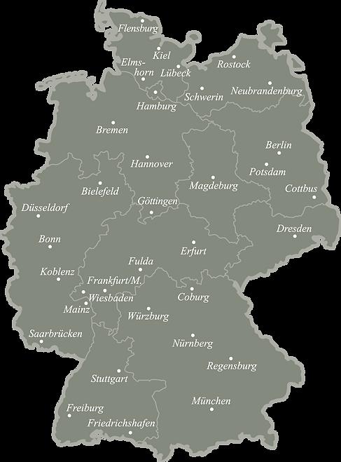 BL Deutschlandkarte