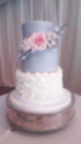 Eloise and Johns wedding cake