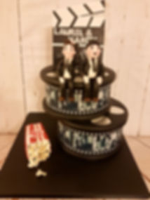 Stan and Ollie Cake