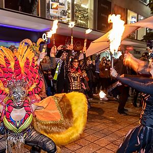 Liverpool halloween parade