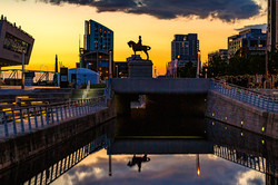 waterfront-sunset