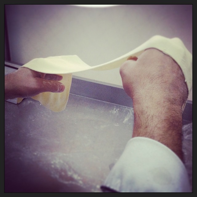 Pasta making made easy #chefnouveaucatering #foodloverscookshop #foodlovers_cookshop STEP 1