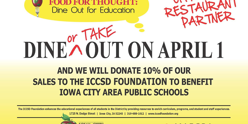 Community Night: Dine Out For Education