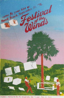 Very first Festival of the Winds Poster 1978