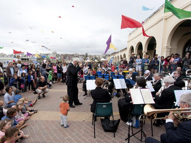 2013 Orchestra on the Pavilion Forecourt