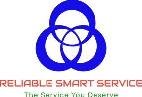 Reliable smart service company logo