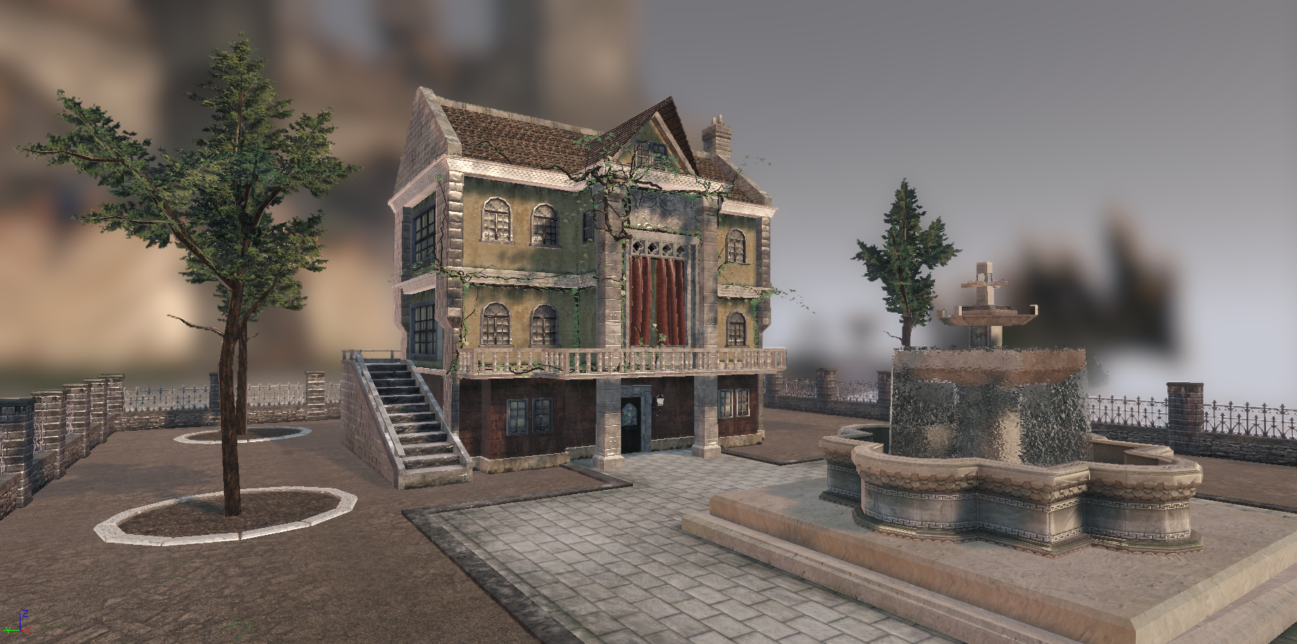 Medieval House in UDK Shot 1