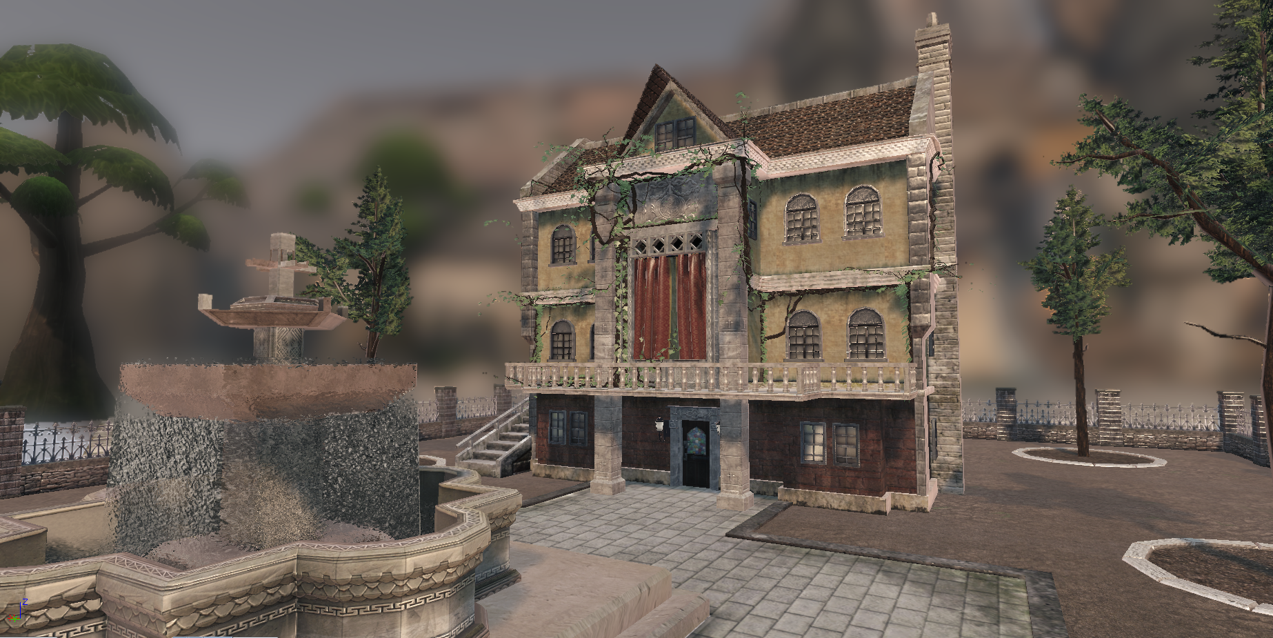 Medieval House in UDK Shot 3