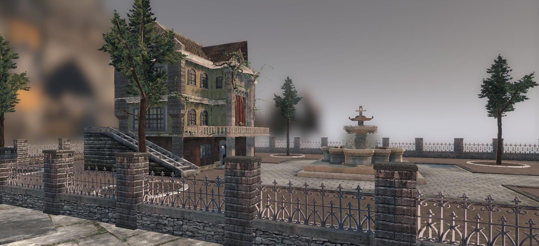 Medieval House in UDK Shot 2