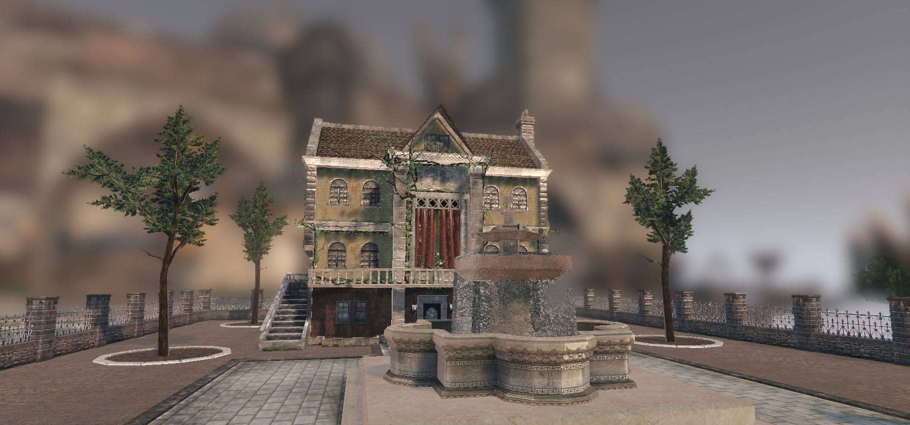 Medieval House in UDK Shot 4