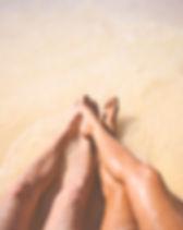 Pares na praia