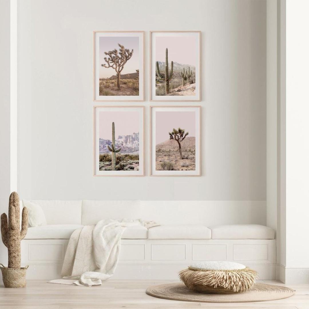 Desert Print Set of 4