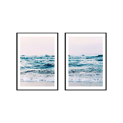 Ocean Wave Print - Set of 2 Prints