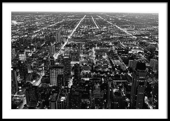 Black & White Chicago Print