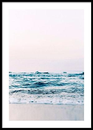 Ocean Wave Print - Coastal Poster
