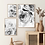 Thumbnail: Black & White Peonies Print - Set of 3 Prints