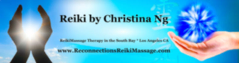 banner from old RRM website  |  Reconnections ReikiMassage by Christina Ng