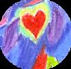 "detail of Christina Ng's ""In the Spirit"" artwork  -  ReconnectionsReikiMassage.com"