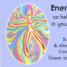 EnergyClearingSpray label - customized flower essence mix - Reiki by Christina Ng