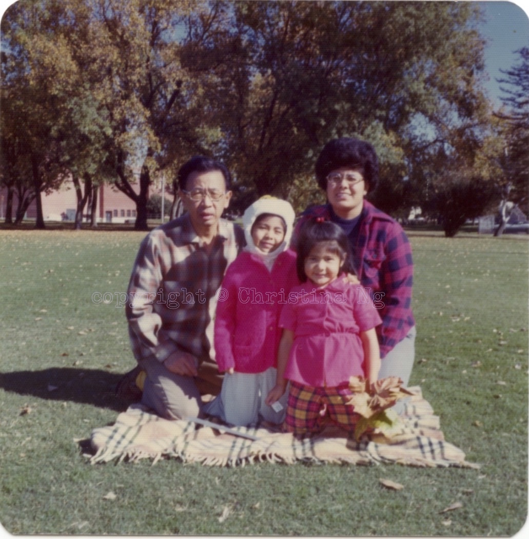 Ng Family, Fall 1975