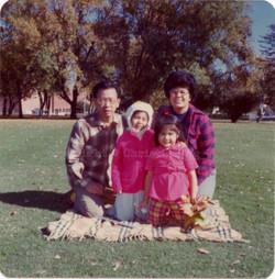 Ng Family, Fall 1975