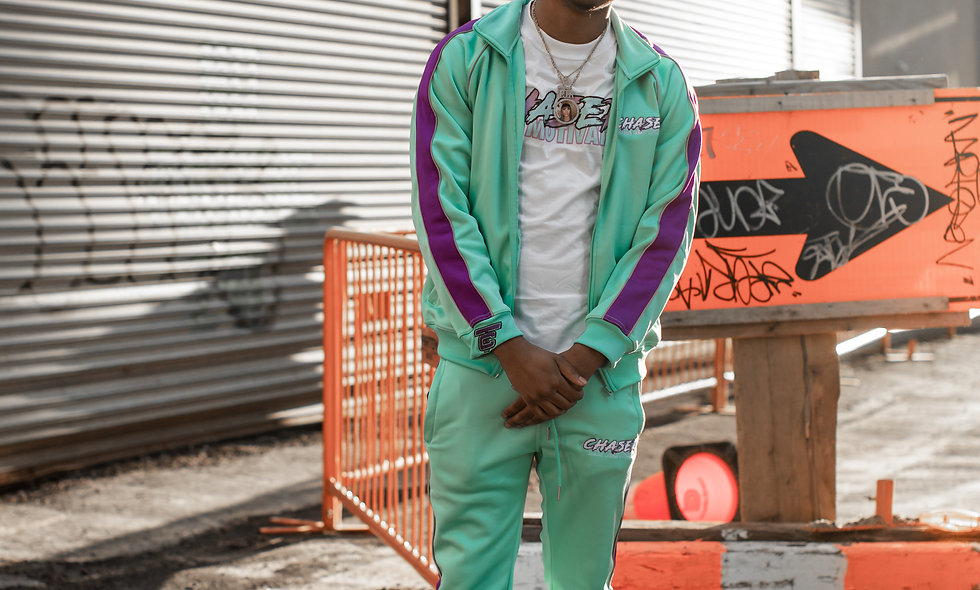 TheMotivation Mint Green Tracksuit